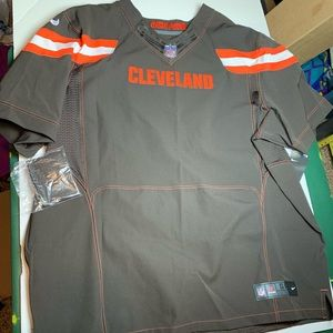 Nike Cleveland Browns Custom Jersey Blank Size 60